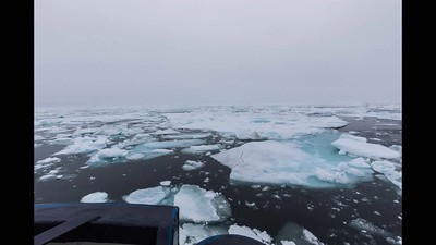 Sailing Through The Ice Timelapse