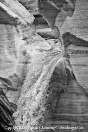 Twist in the Wall Ice Wall B&W _110815_2365