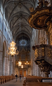 Uppsala Cathedral Nave