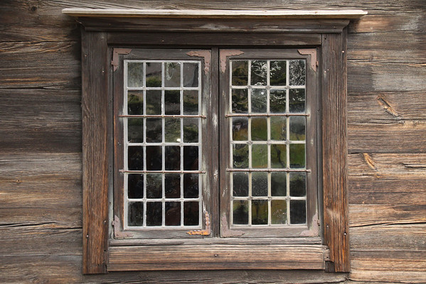 Wood Framed Window