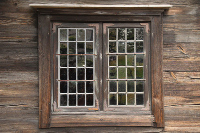 Wood Framed Window