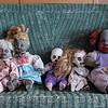 Halloween display.