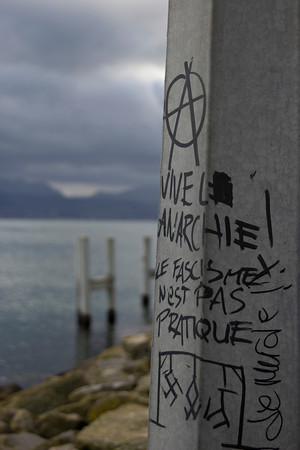 Switzerland, Lausanne, Anarchy at Ouchy SNM