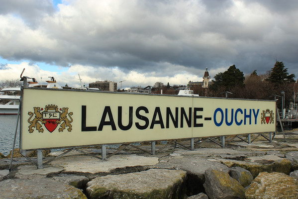 Switzerland, Lausanne, Ouchy