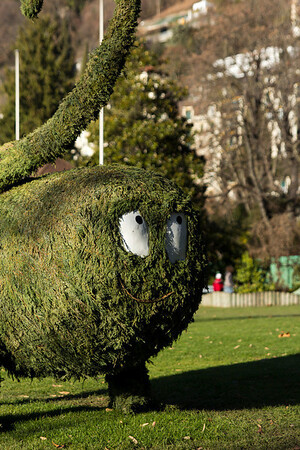 Switzerland, Montreux, Evil Green Thing SNM