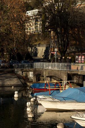 Switzerland, Montreux, Bridge SNM