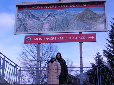At Montenvers station