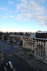 First snow in Geneva - 2008