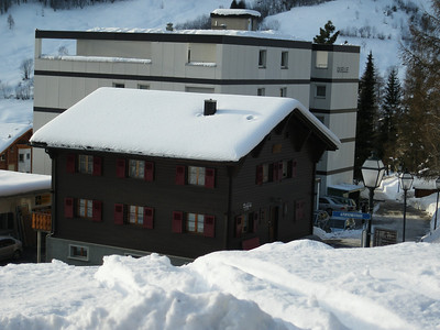 Snow in Leukerbad