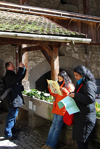 Chillon Castle - 2nd courtyard