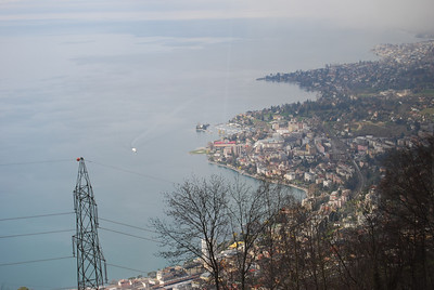 Montreux - a bird's eye view