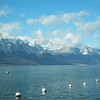 Montreux - view of the mountains