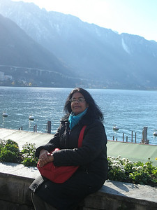 By the lakeside, Montreux