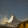 Star Trails over Matterhorn