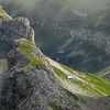 Narrow ridgetop