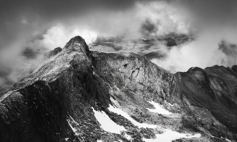 Steep ridge