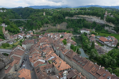 Fribourg, from the tower of the cathedral