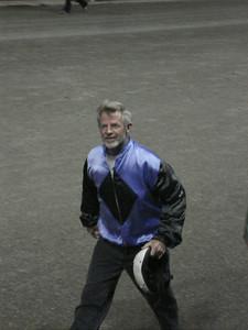 Shorty, the world champion camel racer