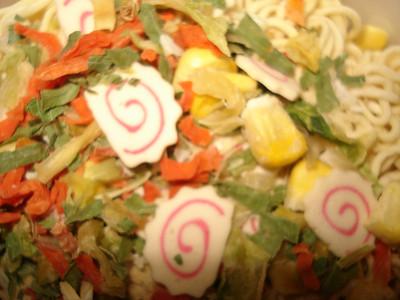 Dried noodle soup