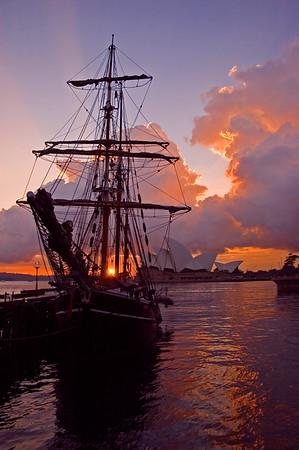 The Bounty - Sydney Harbour.  Sydney, Australia.  Photo by: Stpehn Hindley