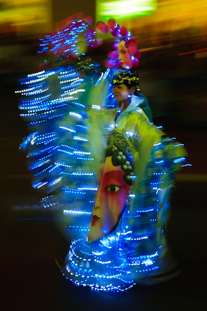 February 1st - A costumed dancer celebrating the Chinese New Year in Sydney, Australia.