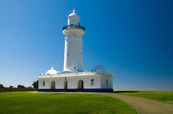 Macquarie Lightstation, Watson's Bay, NSW, Australia - Originally built in 1818, replaced in 1883.