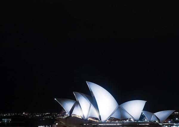 Blue Mood Opera House Sails