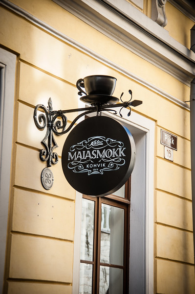 Majasmokk, the oldest cafe in Tallin