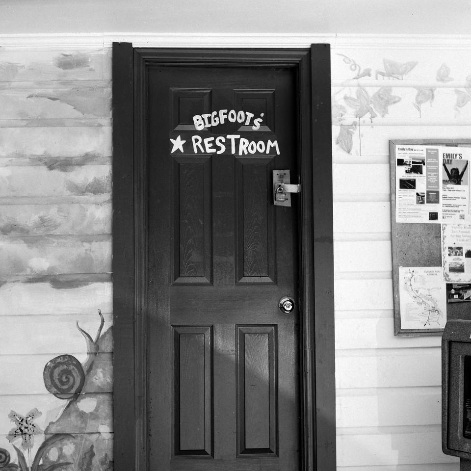 Bigfoot's Restroom
