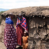 Maasai village in Ngorongoro Conservation Area in Tanzania 恩戈罗恩戈罗保护区的马赛部落