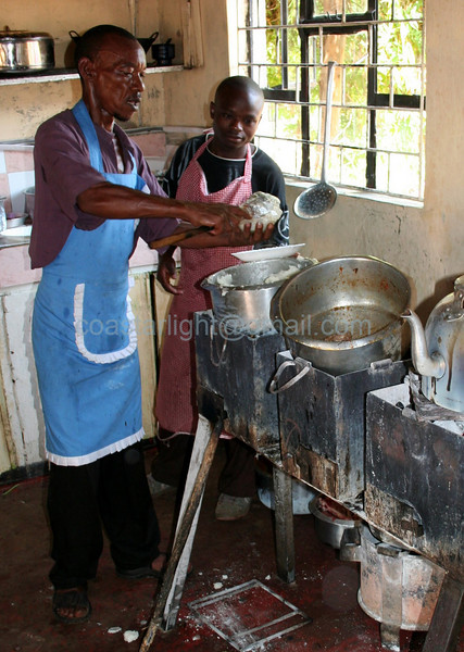 Cooking ugale