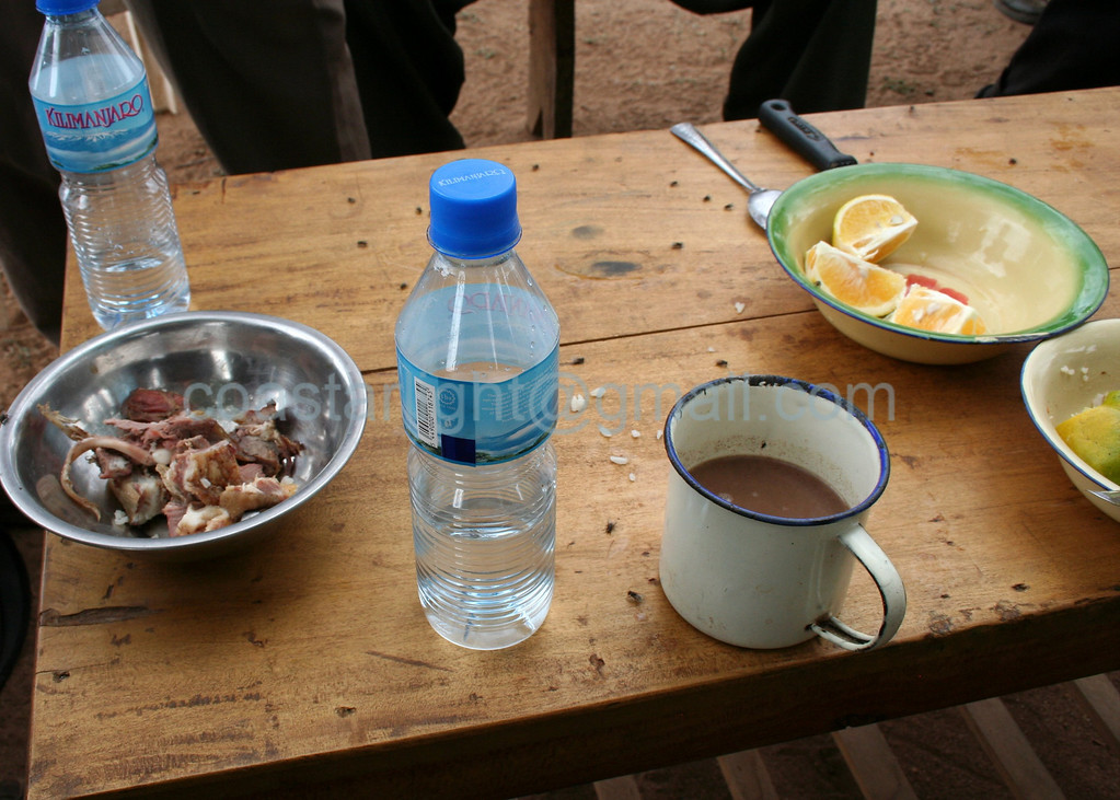 Maasai bone tea