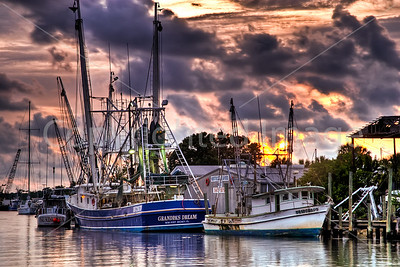 Boats on the Anclote River, FL