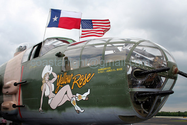 B-25 at Stinson Airfield. San Antonio, TX