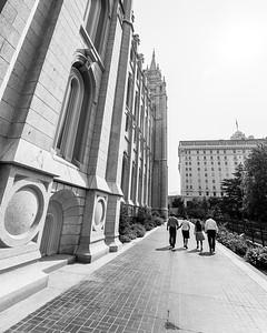 Temple Square Stroll, 2012