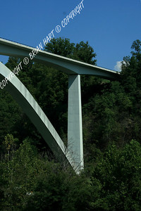 The Natchez Trace Parkway Bridge over TN Route 96 near Franklin, TN