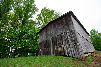 Barn on Willie's farm