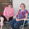 Connie & Barb, relaxing