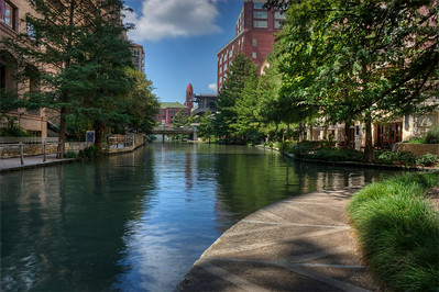 Riverwalk Reflection HDR
