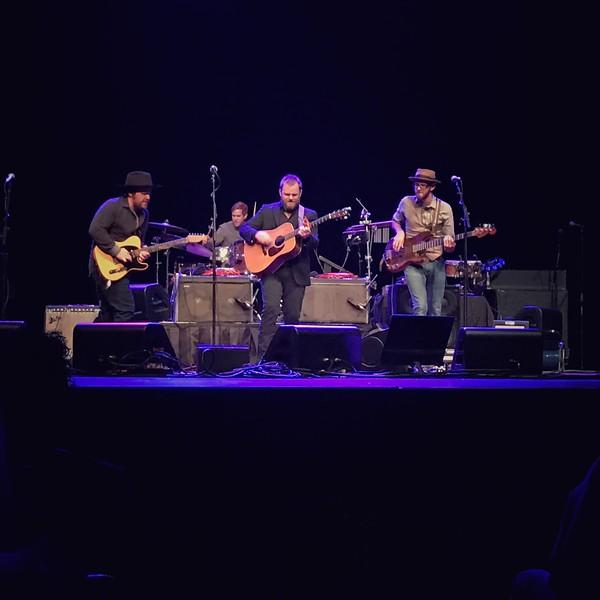 John Baumann and band, Majestic Theatre, San Antonio, 11-22-2016