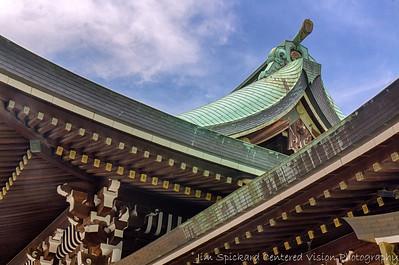 Rooftop, Meiji Shrine