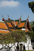 Wat Suthat Thepwararam was built during the first three reigns of the Chakri Dynasty and took 40 years to complete (1807-1847). It is one of the four royal wats of the first class (Ratcha-Voramaha-Vihan) in Bangkok, and is directly patronized by the ruling monarch.