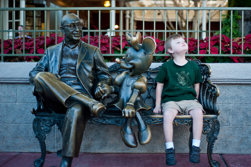 Walt, Minnie, Vinnie.