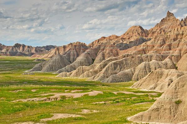 Overlooking the Badlands