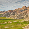 Overlooking the Badlands