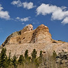 Crazy Horse Monument in progress