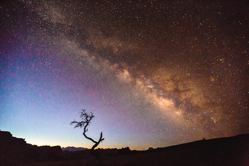 Milky Way at Panorama Point, 2016