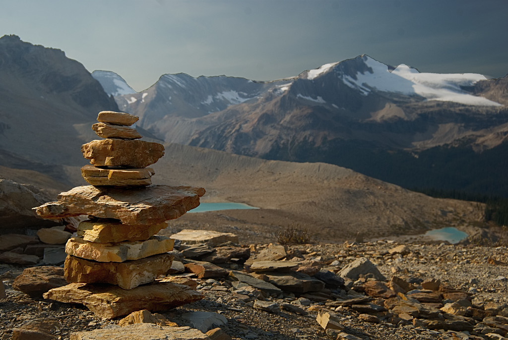 Inukshuk on the Iceline
