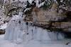 Maligne Canyon Ice