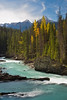 Kicking Horse River near Natural Bridge, Yoho National Park, British Columbia